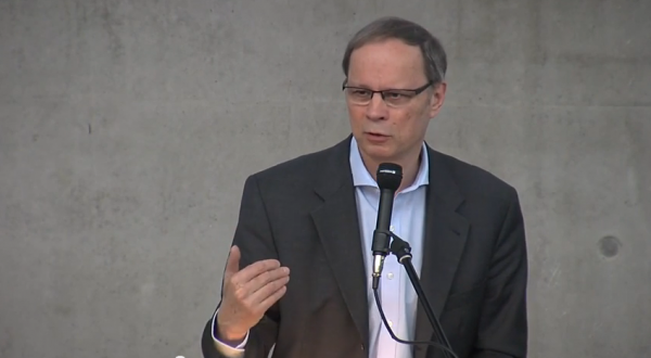 Jean Tirole during the Spring Meeting of Young Economists 2015