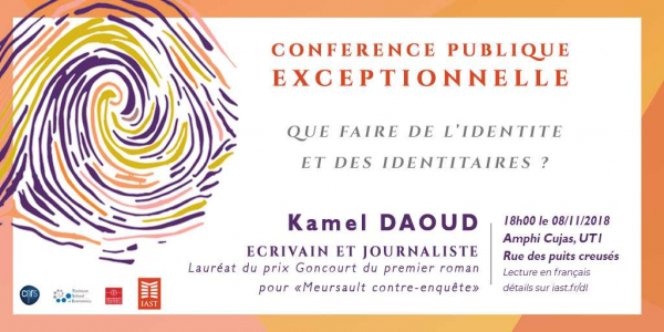 Distinguished Lecture with Kamel Daoud on Identity