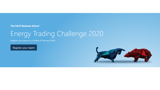 Participate in the next Energy Trading Challenge 2020 in London
